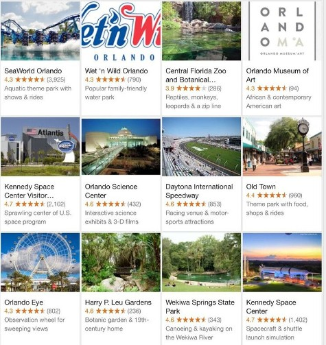 Central Florida Attractions